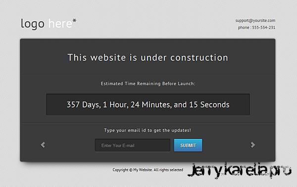Превосходная оффлайн страница для DLE » Jerry's blog
